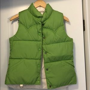 American Eagle reversible puffer vest size XS/S